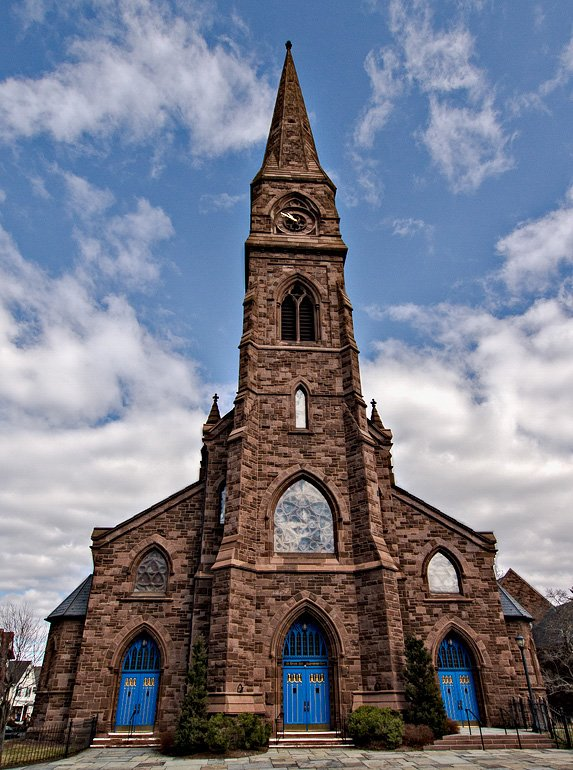 Photo of Asylum Hill Congregational Church in Hartford, CT