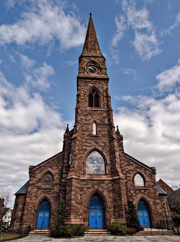 Photo of Asylum Hill Congregational Church in Hartford, CT
