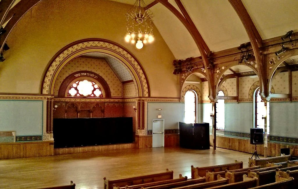 Photo of inside of Charter Oak Cultural Center in Hartford, CT