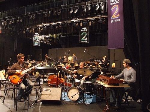 Randy Napoleon at BBC Rehearsal in London