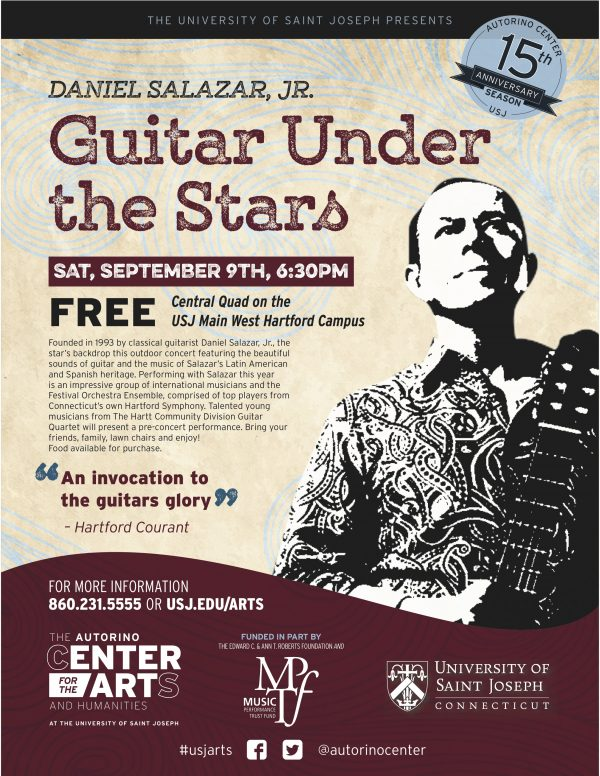 Guitar Under the Stars'Sunday Stage' Dates<br><font style=&quote;font-size: 0.60em; font-family: 'Open Sans', sans-serif; font-weight:bold&quote;>Saturday, September 9, 2017</font>