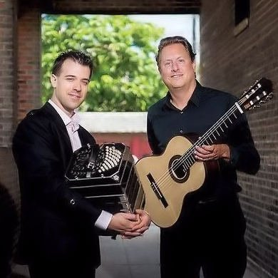 Photo of  Jason Vieaux and Julien Labro