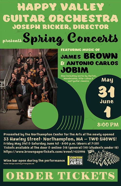 Happy Valley Guitar Orchestra Spring Concerts - May 31 & June 1, 2019