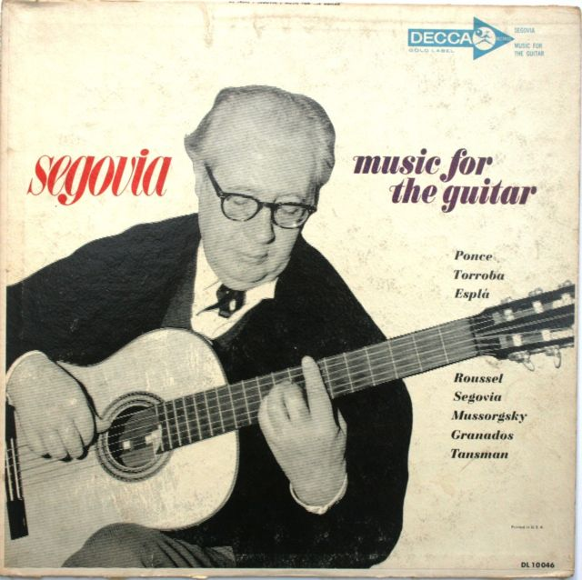 Guitar Society member Doug Moe is downsizing and would like to give away his huge thirty-three-and-a-third record collection of classical guitar records. The collection contains the complete Segovia discography. Some records were only available in Europe.