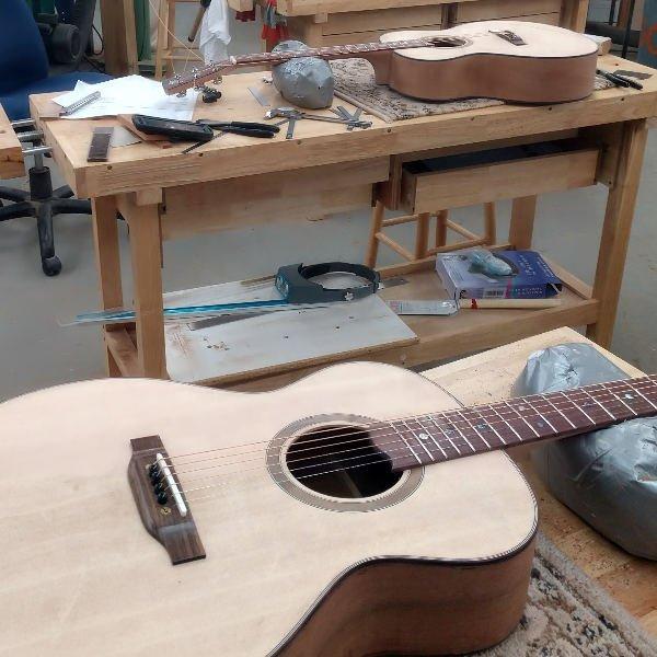 Guitar Building Class for Veterans