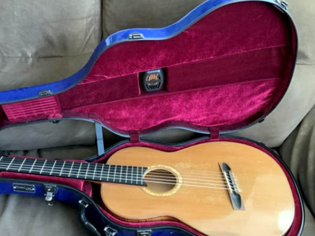 2013 Jeremy Clark Western Red Cedar and Maple Guitar for Sale