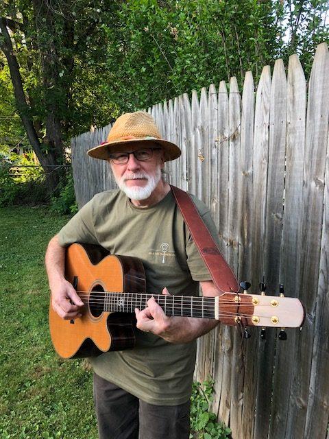 Photo of guitarist Stan Sullivan