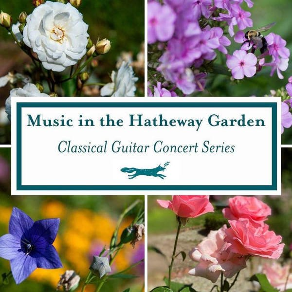 OCT 3 — Music in the Hatheway Garden, by the  Connecticut Guitar Society Ensemble & Artistic Director Dave Giardina